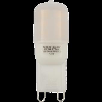 LED G9 SMD 2835 240V 2W warm white 20000h