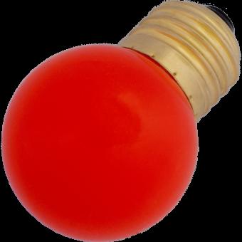 G45 LED-7 E27 0,7W 230VAC red 10000h