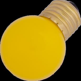 G45 LED-7 E27 0,7W 230VAC yellow 10000h