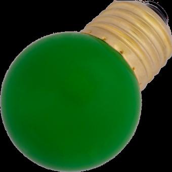 G45 LED-7 E27 0,7W 230VAC green 10000h