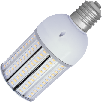 Corn SMD 5630 LED-60 E40 20W 230VAC warm white 3000K without cover 90x197mm 2600lm 180°