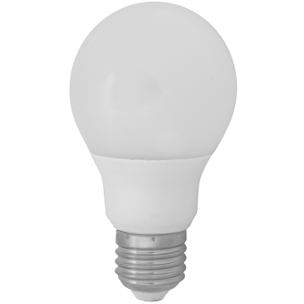 A60 LED E27 6W 230VAC warm white