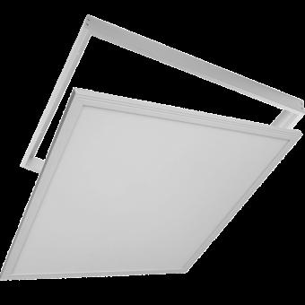 Set LED Panel + Surface 40W 240VAC 4000lm 50.000h